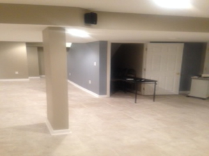 The Basic Basement Co._finished basement with home theater _Howell-NJ_November 2013