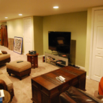 The Basic Basement Co._finished basement with bar and full bathroom_Princeton-NJ_June 2014