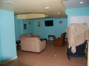 The Basic Basement Co._finished basement with kitchen_Kingston-NJ_October 2014