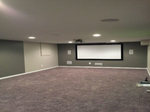The Basic Basement Co._finished basement with home theater_Mt. Holly-NJ_June 2015