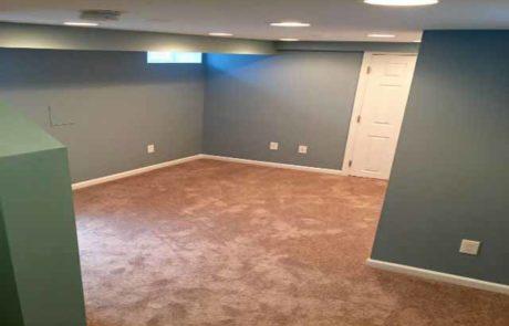 The Basic Basement Co._finished basement with full bath_Pitman-NJ_January 2016