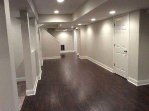 The Basic Basement Co._finished basement with half bath_Morristown-NJ_February 2016