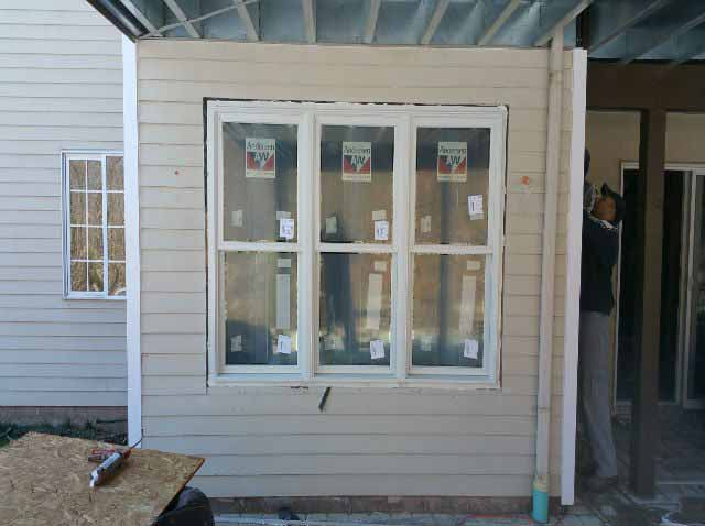 The Basic Basement Co._finished basement with casement window installation_Skillman-NJ_February 2016