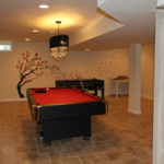 The Basic Basement Co._finished basement with game room_NJ_January 2012