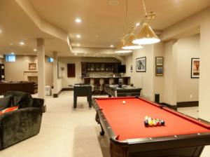 The Basic Basement Co._finished basement with bar_NJ_October 2012