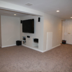 The Basic Basement Co._finished basement with home theater_NJ_April 2012