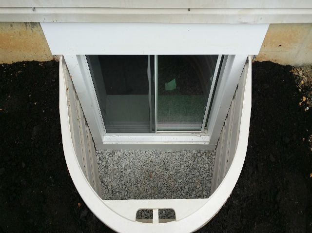 The Basic Basement Co.   Egress Window Installation   June 2014    Robbinsville, NJ