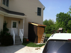 The Basic Basement Co._finished basement with egress door_Linwood-NJ_August 2014