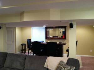 The Basic Basement Co._finished basement with bar_Harleysville-PA_October 2014