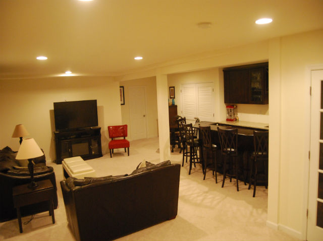 Basement finishing services the basic basement co for 9999 basement