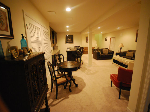 a makeover project of the bar rats of remodeling a basement
