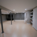 The Basic Basement Co._finished basement with home theater_North Brunswick-NJ_November 2015