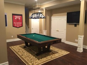 The Basic Basement Co._finished basement with bar and home theater_Watchung-NJ_December 2015