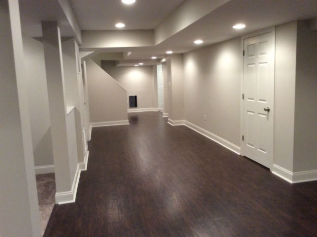 The Basic Basement Co. - finished basement - February 2016 - Morristown, NJ