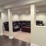 The Basic Basement Co._finished basement with half bath_Morristown-NJ_February 2016