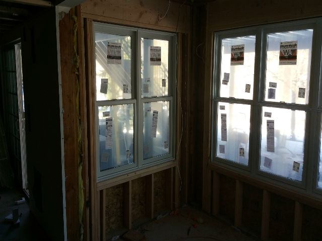 the basic basement co finished basement with casement window