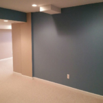 The Basic Basement Co._finished basement with half bathroom_Manalapan-NJ_March 2016