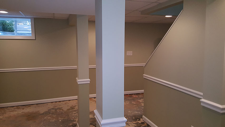 Finished basement with full bathroom west caldwell nj for 9999 basement