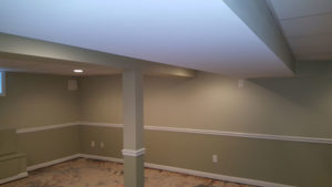 The Basic Basement Co._finished basement with full bathroom_West Caldwell-NJ_April 2016