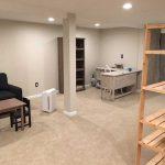 The Basic Basement Co. - Finished Basement With Full Bathroom - Bridgewater, New Jersey - July 2021