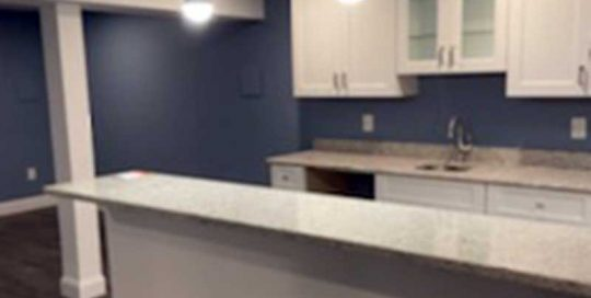 The Basic Basement Co. - Finished Basement With a Full Bathroom and Kitchenette - Monmouth Junction, New Jersey - August 2021